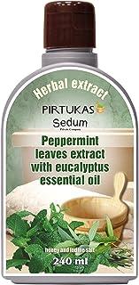 Extrait de fines huiles essentielles aux herbes naturelles Sedum pour sauna, Infusion de sauna avec Extrait de feuilles de...