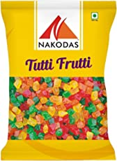 N Nakodas Nakodas Tutti Frutti Mix Pack (Cherry Fresh Fruits), 900 Grams Pouch