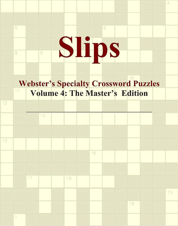 拮抗雨のホバーSlips - Webster's Specialty Crossword Puzzles, Volume 4: The Master's Edition