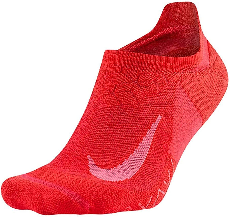 Nike Elite Men`s Cushioned No-Show Running Socks