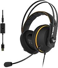 ASUS TUF Gaming H7 Cuffie gioco per PC, PS4, Nintedo Swicth, XBOX One, Audio virtuale 7.1 integrato, cuscinetti confortevo...