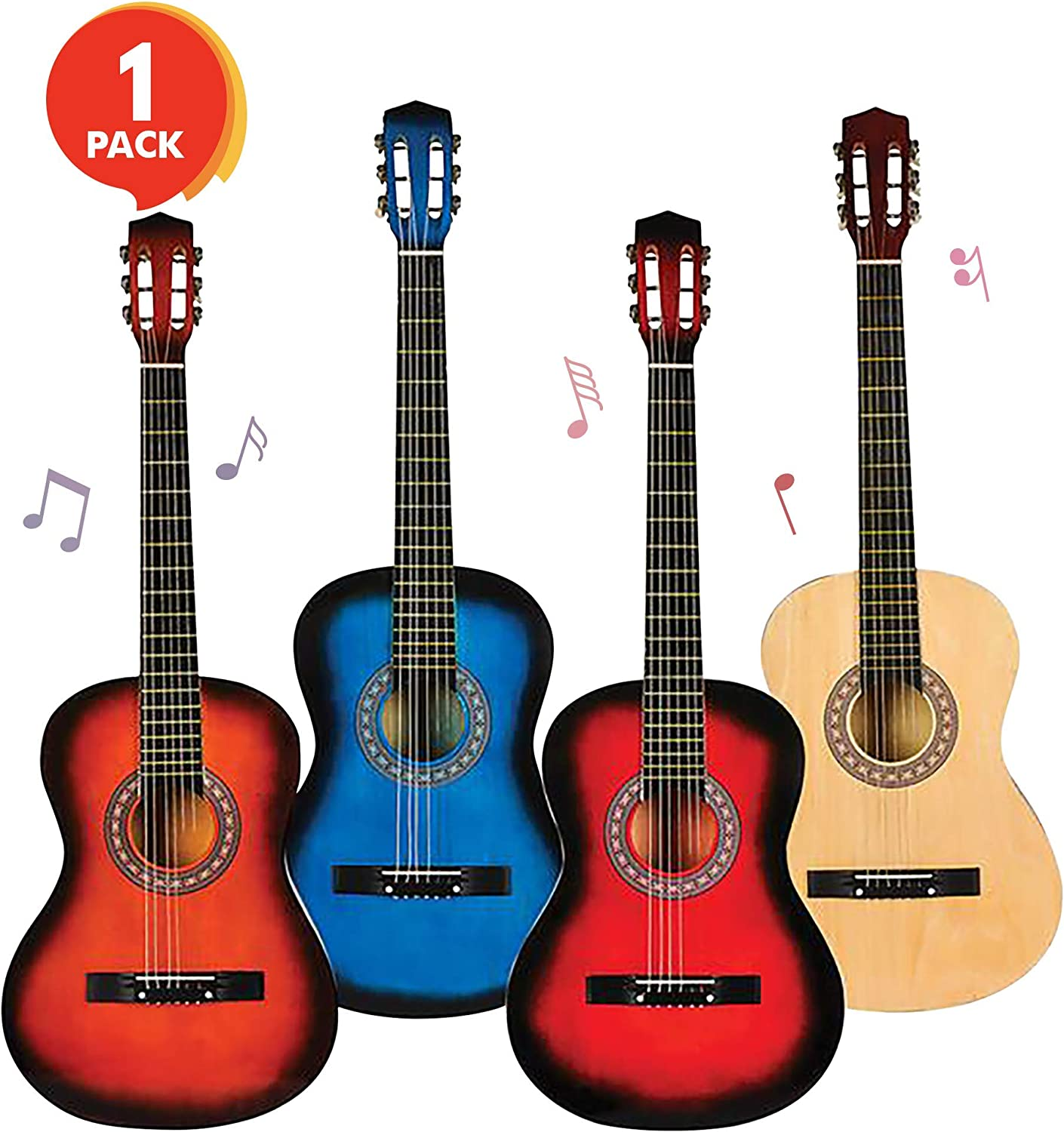 ArtCreativity Huge 6-String Acoustic Guitar 38 - Inches Super popular High quality specialty store Tall C