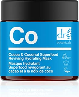 The Apothecary Collection by Dr Botanicals Cocoa & Coconut Superfood Reviving Hydrating Mask (60 ml / 2.02 fl oz)