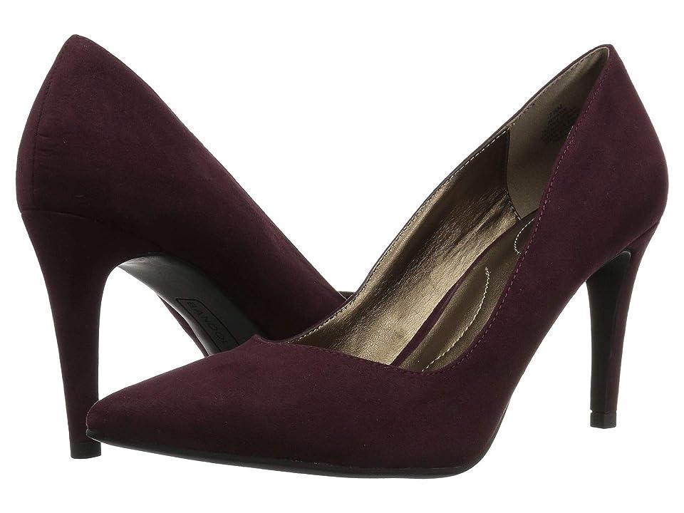 Bandolino Fatin Heel (Dark Wine Fabric) High Heels