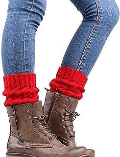 Amazon.es: Rojo - Calentadores / Calcetines y medias: Ropa