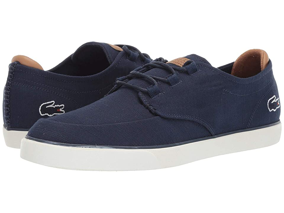 Lacoste Esparre Deck 119 3 CMA (Navy/Light Brown) Men