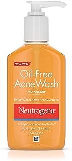 Neutrogena Oil-Free Acne Wash 3片装