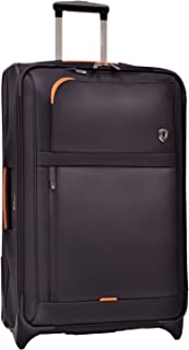 Traveler's Choice Birmingham Lightweight Expandable Rugged Rollaboard Rolling Luggage