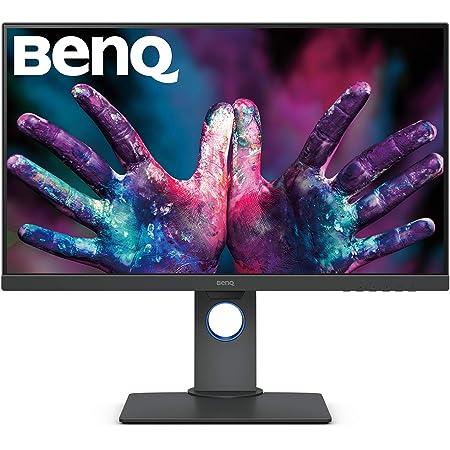 """BenQ PD2700U - Monitor Profesional para Diseñadores de 27"""" 4K UHD (3840x2160, IPS, 100%Rec.709/SRGB, 10 Bits, CAD/CAM, HDMI, DP, DP Out, USB 3.1 x4, Altura ajustable, antireflejo) - Gris"""