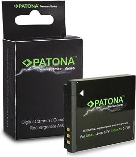 PATONA Premium Bateria NB-6L Compatible con Canon Digital Ixus 105 200 IS 300 HS PowerShot SX240 SX500 S120
