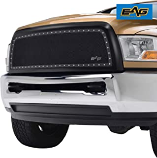 EAG Rivet Stainless Steel Wire Mesh Grille Fit for 2010-2012 Dodge Ram 2500/3500