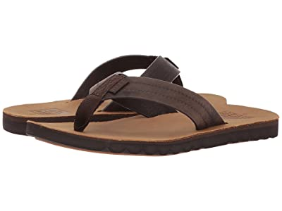 Reef Voyage LE (Dark Brown/Tan) Men