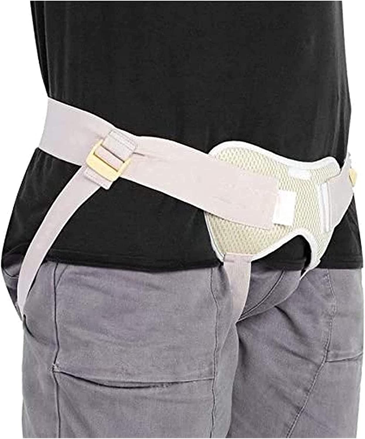 lovediyxihe Fort Worth Mall Adjustable Inguinal Hernia Support Inflat Groin Belt shop