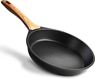 Miusco 10 Inch Nonstick Frying Pan, PTFE and PFOA Free Granite Coating Skilletwith Bakelite Handle
