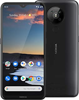 "Nokia 5.3 Android One Smartphone (Official Australian Version 2020) Unlocked Mobile Phone with Quad Camera, Large 6.55"" Sc..."