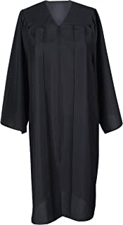 Unisex Adult Graduation Gown Economic Choir Robe Matte Gown Only