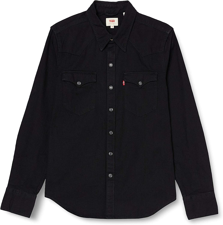 Levis Barstow Western, Camisa casual de manga larga Hombre