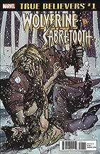 True Believers: Wolverine vs. Sabertooth #1 VF/NM ; Marvel comic book