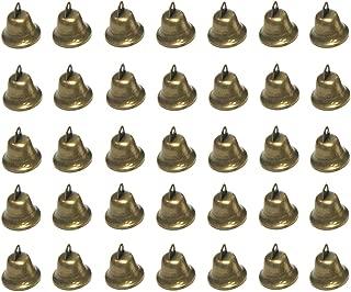 Maydahui 35PCS Vintage Bronze Jingle Bells (1.7