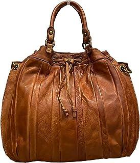 BZNA Bag Thora cognac vintage Italy Designer Business Damen Handtasche Ledertasche Schultertasche Tasche Leder Shopper Neu