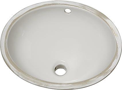 American Standard 495221 020 Ovalyn Ceramic Undermount Oval Bathroom Sink 19 25 L X 16 25 W X 7 18 H White Undermount Bathroom Sink Amazon Com