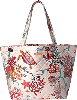 Quilted Beach Tote
