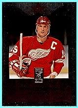 1995-96 Donruss Elite Die Cuts Uncut #99 Steve Yzerman DETROIT RED WINGS CAPTAIN
