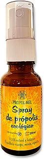 Propoleo spray garganta - 20 ml - BIO. Contribuye al bienestar de la garganta. Boca fresca gracias a su composición: propolis, miel, romero, eucalipto y limón.