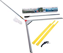 Jenlis Lake Weed Razer, Weed & Grass Removal Tool for Lakes & Ponds