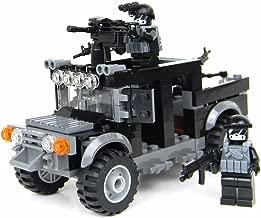 Battle Brick Special Forces Black Operations Humvee Custom Set
