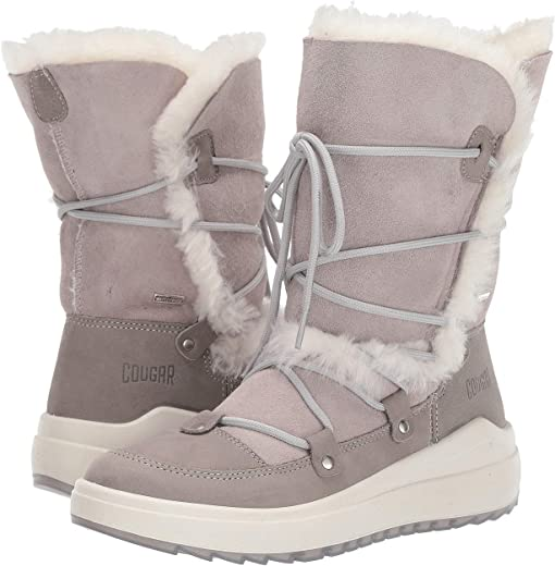 Taupe Leather/Shearling