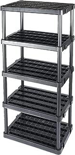 Gracious Living Adjustable 5-Shelf Medium Duty Shelving Unit