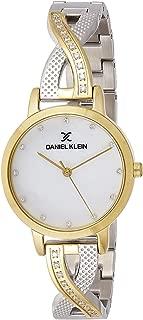 Daniel Klein Women's Quartz Watch, Analog Display and Stainless Steel Strap DK12043-5