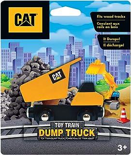 Caterpillar - Dump Truck Wood Toy Train