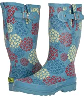 Hydrangea Blooms Rain Boot
