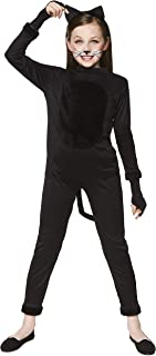 Girl's Cat Suit Costume - for Halloween, Costume Party Accessory
