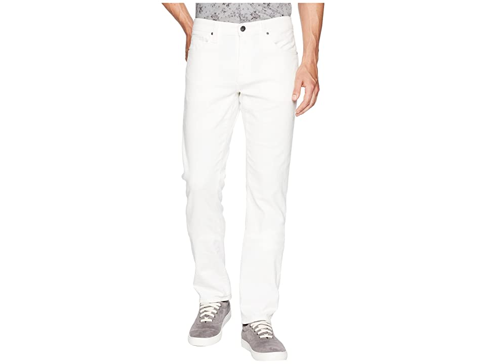 Agave Denim Tweed River Rinse Rocker Fit Jeans in White (White) Men's Jeans