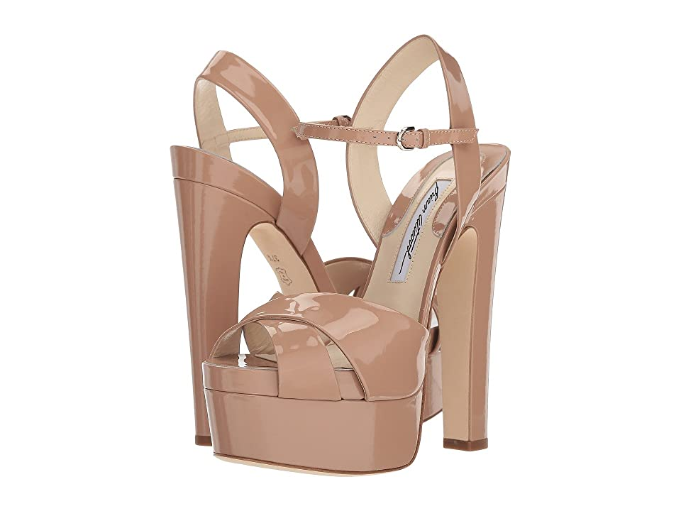 Brian Atwood Madison (Cappuccino Nude Patent) Women