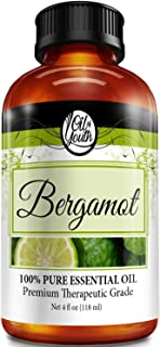 4oz Bulk Bergamot Essential Oil – Therapeutic Grade – Pure & Natural Bergamot Oil