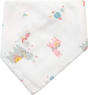 Angel Dear Pink Llama Muslin Bandana Bib