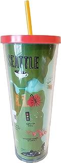 Starbucks 2019 Seattle Local Collection Tumbler Venti 24 oz Ounce