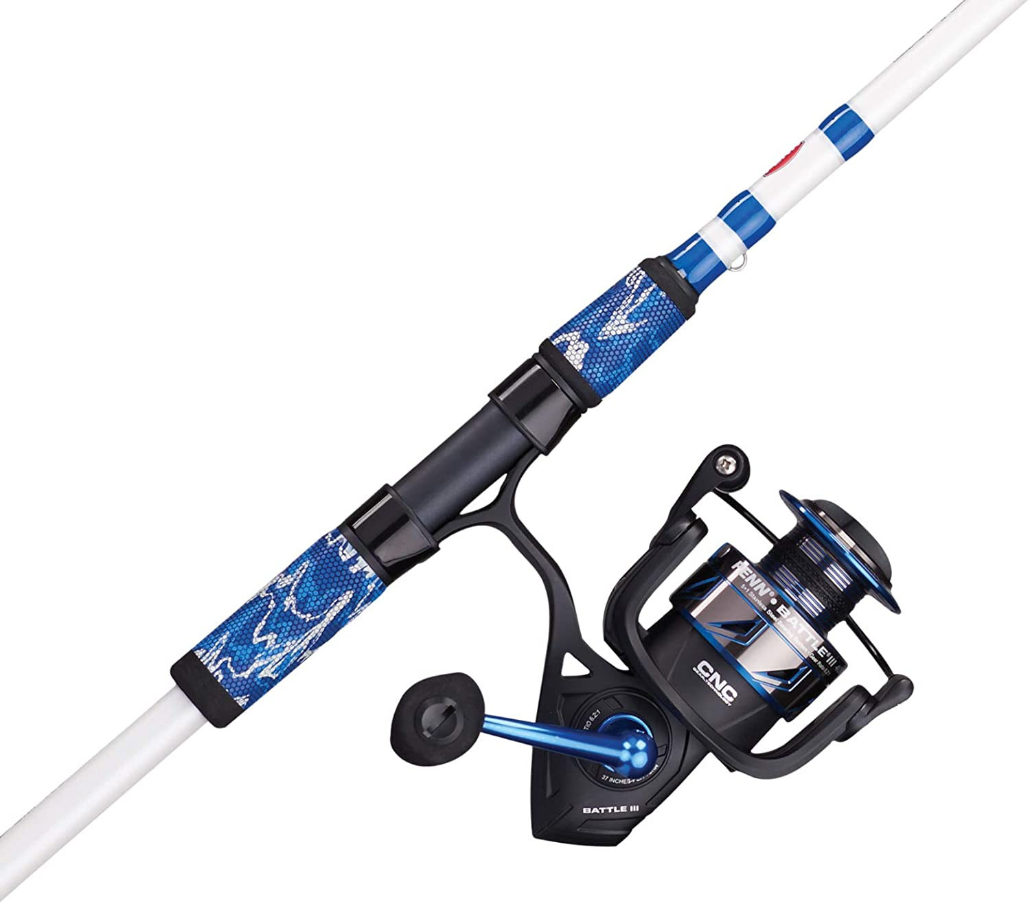 PENN Fishing Battle Spinning Low price Reel Spring new work black Rod w and Combo