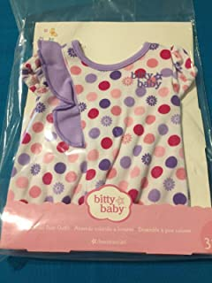 American Girl - Bitty Baby - Colorful Dots Sleeper for Dolls