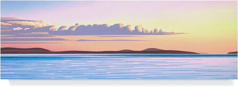 Island Dawn by Ron Parker, 8x24Inch