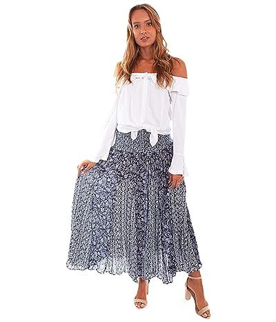 Scully Luna Flirty Lightweight Skirt (Blue) Women