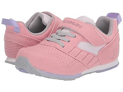 Tsukihoshi Kids Racer (Toddler/Little Kid) (Rose/Pink) Girls Shoes