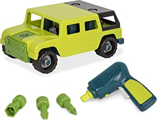 Battat – Take-Apart 4 x 4 – Colorful Take-Apart Toy Truck for Kids Aged 3 and Up (25pc)