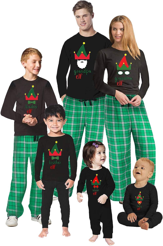 Awkward Styles Christmas Pajamas for Family Xmas Elf Grandma Grandpa Matching Christmas Sleepwear Men PJ Set Style 2 L