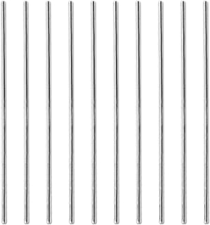Sutemribor 2mm x 150mm Stainless Steel Model Straight Metal Round Shaft Rod Bars for DIY RC Car, RC Helicopter Airplane (10 PCS)