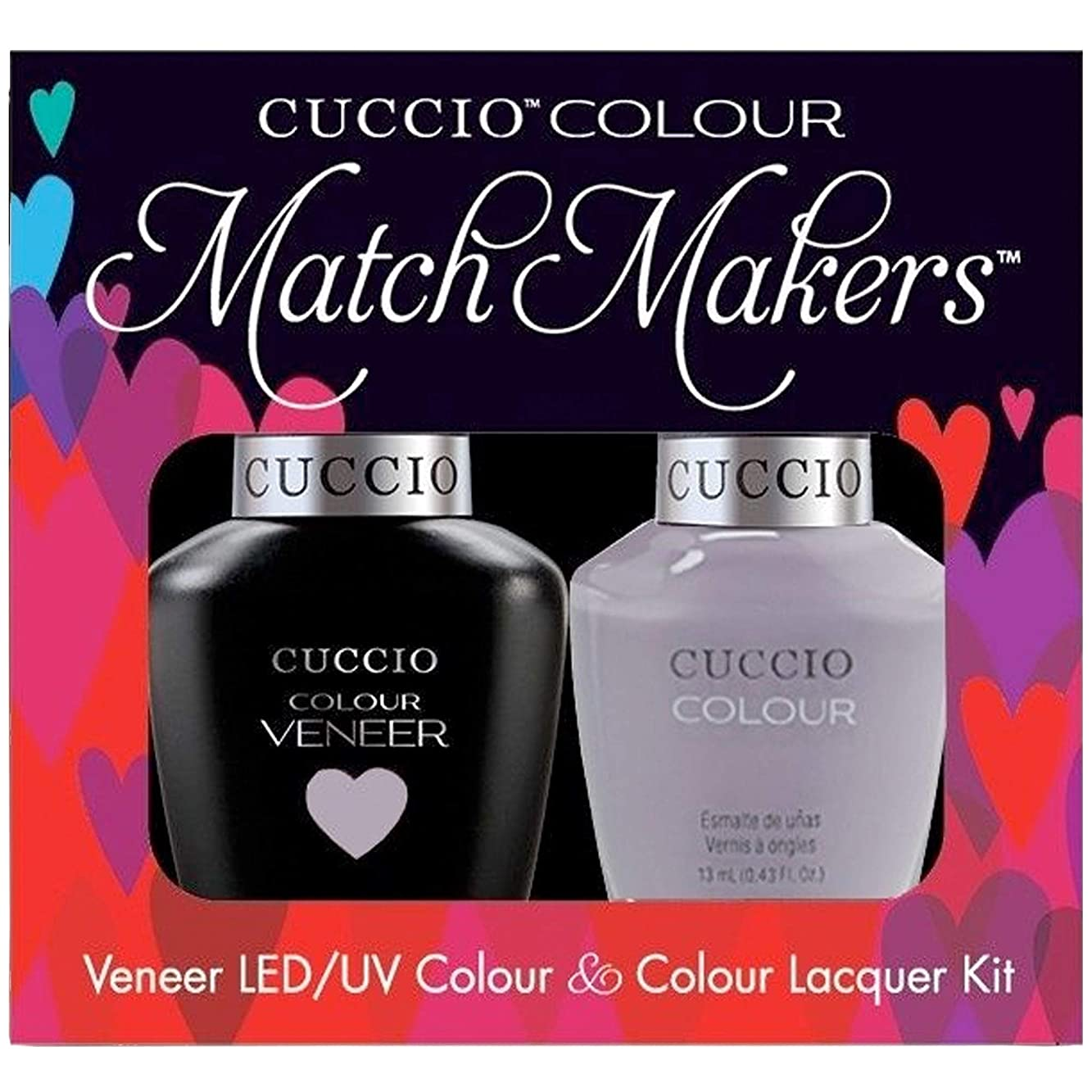 広大な葡萄時期尚早Cuccio MatchMakers Veneer & Lacquer - Soul Surfer - 0.43oz / 13ml Each